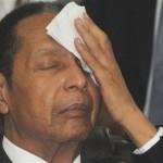 Le dictateur Jean-Claude Duvalier en 2013